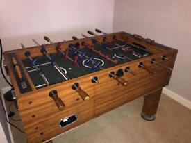 Harvard Foosball/ football table SOLID WOOD