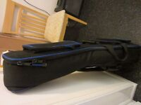 Quality TGI padded gig bag for acoustic or 355 type electric guitar