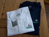 "ASHWORTH ""CASTELLO MASTERS"" SET, POLO TOP & WIND STOPPER SIZE L."