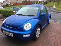 ***REDUCED *** Volkswagen New Beetle. 1.6SR Petrol 3 Door Hatchback. Project Car. Needs some work.