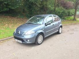 2008 CITROEN C3 EXCLUSIVE 1.4 5 DOOR LOW MILEAGE 62K