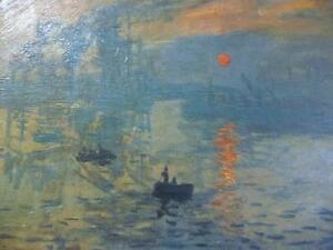 "Claude Monet ""Sunrise, An Impression"" Painted 1872 Art Print Stratford Kitchener Area image 2"