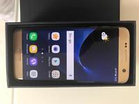 Almost New Samsung S7 Edge 32gb Gold