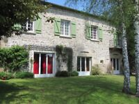 stunning traditional stone cottage in Limousin, France. A stone throw away from Vassiviere lake
