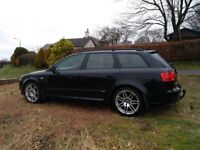 2008 (57) Audi A4 SLine Special Edition 170BHP TDI Avant in Phantom Back.