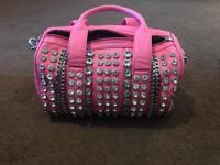 Pink gem bag