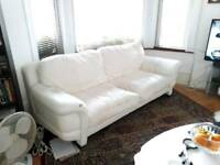 SETTEE & 2 ARMCHAIRS INCLUDING FOOTSTOOL