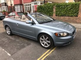 2007 Volvo C70 Convertible 2.4i Sport Manual, Remote Roof Control Cream Leather Full Service History
