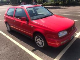 *Deposit taken* VW Golf MK3 VR6 2.8 manual in Flash Red 3 door