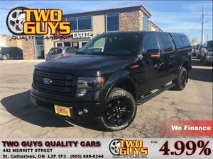 2014 Ford F-150 FX4 EVERY OPTION! HEATED & COOLED LEATHER SEATS