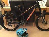 Kona Supreme Operator DH Carbon Racer! Giant,Scott,Trek,Specialized