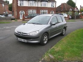 Peugeot 206 SW 2.0 HDi S 5dr (a/c)