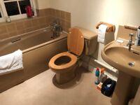 retro 3 piece bathroom suite