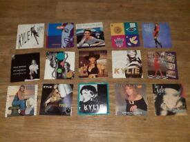 17 x kylie minogue vinyl singles