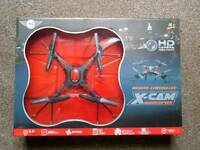 X Cam Quadcopter Remote Controlled Drone