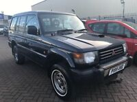 1997 P MITSUBISHI SHOGUN LWB SAME OWNER LAST 16 YEARS ! CONDITION IS LIKE NEW A ONE OFF BARGAIN !!!