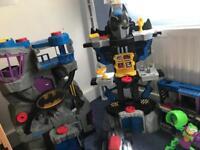 Huge bundle of batman imaginext toys
