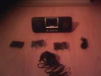 TGC Portable Speaker & Docking System For Ipods & MP3's