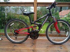 Apollo FS24 Full Suspension Bike