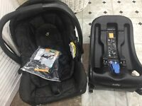 Joie Kixx car seat and isofix