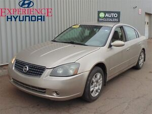 2005 Nissan Altima 2.5 S THIS WHOLESALE CAR WILL BE SOLD AS TRAD
