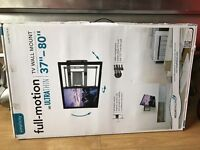 "Full-Motion ultra thin wall mount 37""-80"" brand new"