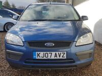 Ford Focus 1.6 Automatic 2007 5 Door 107,000 Miles Cheap Insurance & Tax Drives Like New HPI Clear