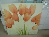 Large Ikea Poppy Canvas
