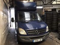 2011 Mercedes Benz Sprinter Luton Body 10 Foot 313.BRILLIANT DRIVE.1 OWNER.LONG MOT.FULL SERVICE.