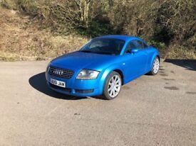 Audi TT 225 quattro RARE Kingfischer Blue