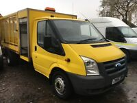 Ford Transit TIPPER with cage 56 REG ONE OWNER DIRECT £4995 PLUS VAT