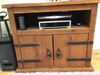 Tv and sky stand and storage unit