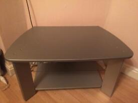Sliver tv stand great condition