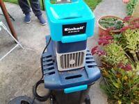 Electric garden shredder