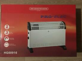 Brand new Pro Elec 2kw heater for sale