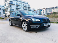 2006 FORD FOCUS 2.5 ST-2 BLACK, F/S/H, STANDERED AND ORIGNAL, CHEAPEST ON THENET