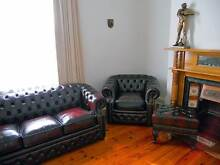 NEW LEATHER LOUNGE SUITE, CHESTERFIELD, ITALIAN LEATHER $ VARY Adelaide CBD Adelaide City Preview