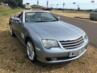 Chrysler Crossfire convertible 6 speed manual