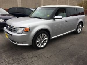 2011 Ford Flex Ltd, Auto, Leather, Pan Sunroof, Only 64, 000km