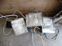 garden lights X3 bargain £10 the lot