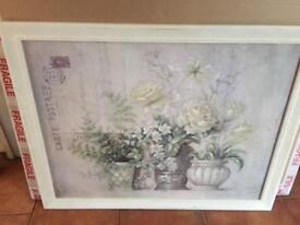 French wooden picture / shabby chic