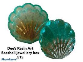 Handmade Resin Jewellery box