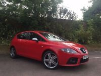 2007 SEAT LEON FR TDI RED FULL SEAT SERVICE HISTORY 1 OWNER FULLY LOADED TOP SPeC not golf gt tdi