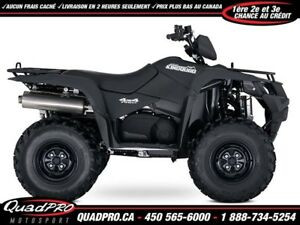 2018 Suzuki KingQuad 750AXi Power Steering !!! 400$ DE RABAIS !!