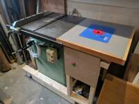 Startrite Table Saw Router Table