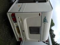 avondale 470/2 2 berth touring caravan