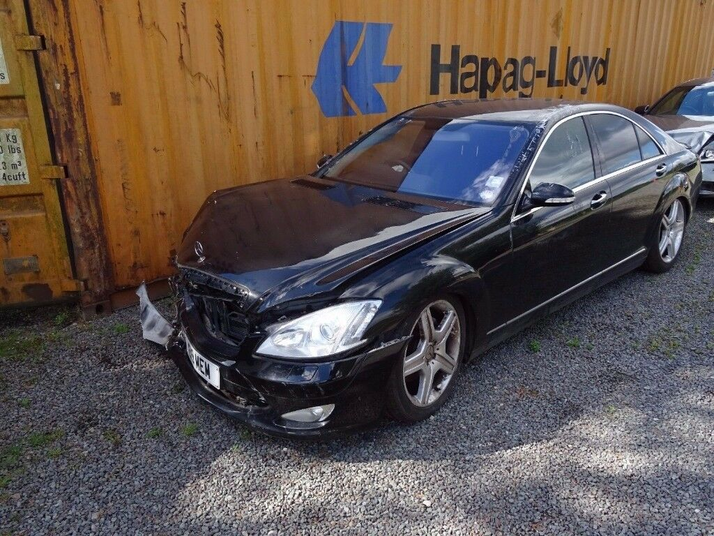 Breaking for parts mercedes benz s class w221 s320 cdi for Mercedes benz automobile parts
