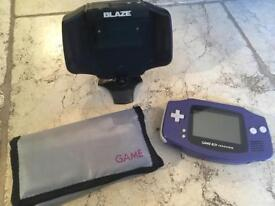 Game boy advance, games and TV tuner