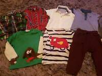Bundle of clothes 12 to 18 months Next, Bluezoo, Mothercare