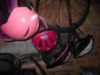 Bicycle helmets, child size